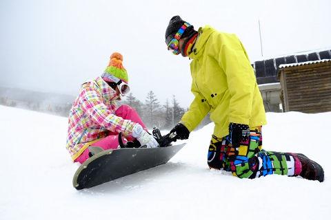 スノーボード初心者必見